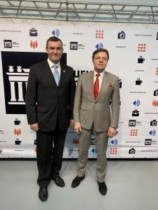 Новосельцев Д.В. вместе с Президентом АРСП Горским Игорем АНАТОЛЬЕВИЧЕМ